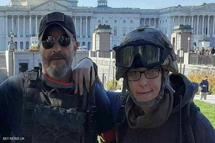 الهجوم على مبنى الكونغرس