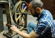 صناعة قماش البروكار