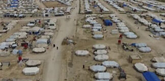 قسد مخيم الهول للاجئين