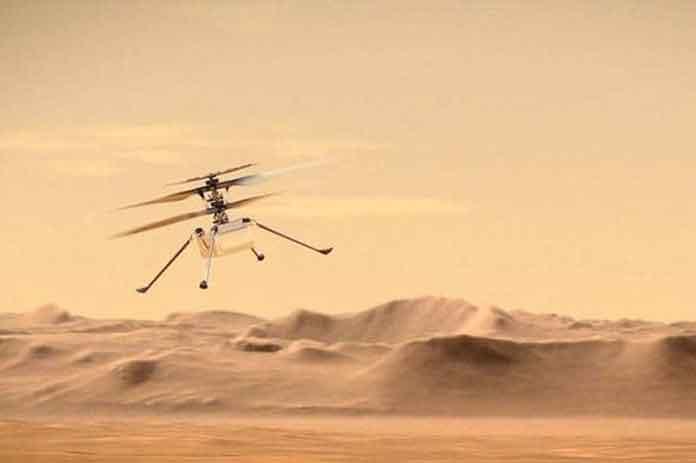 الحياة على المريخ
