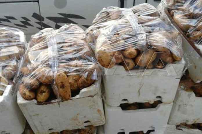 تمديد منع تصدير البطاطا