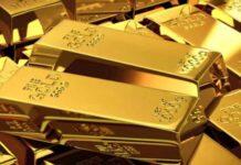 الذهب الخزانة الأمريكية