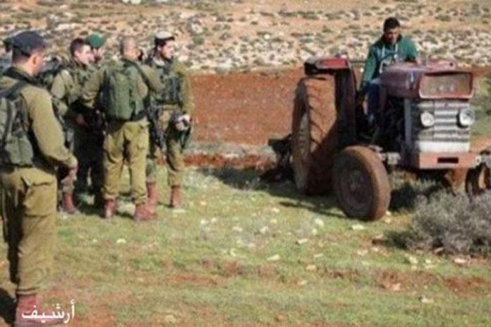الاحتلال الإسرائيلي الفلسطينيين نابلس