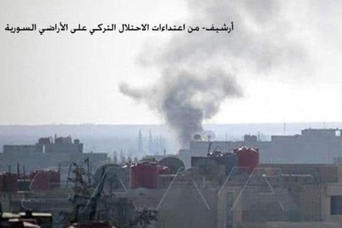 الاحتلال التركي ريف حلب