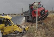 حادث طريق صيدنايا رنكوس