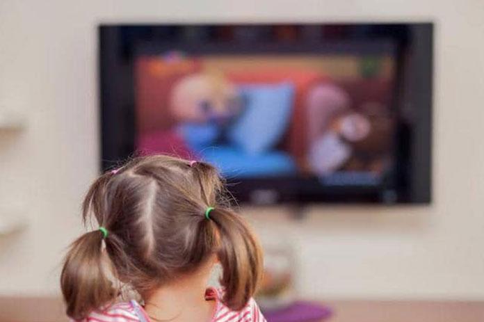 التلفزيون الأطفال