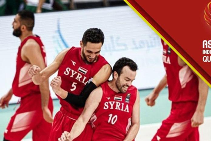 منتخب سورية لكرة السلة