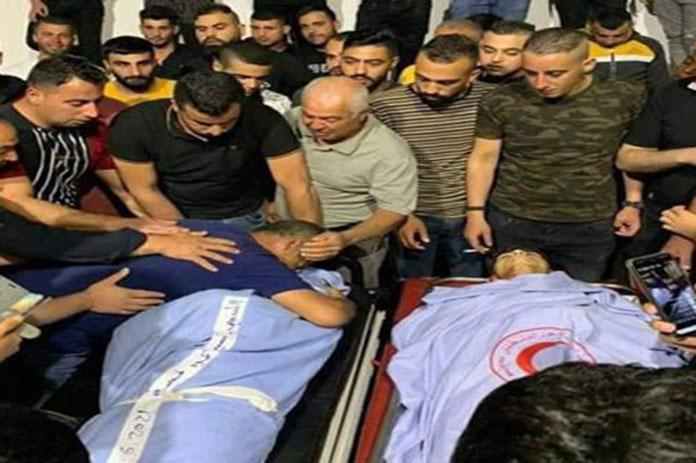 استشهاد فلسطينيين الاحتلال الإسرائيلي