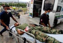 هجوم قاعدة عسكرية كولومبيا