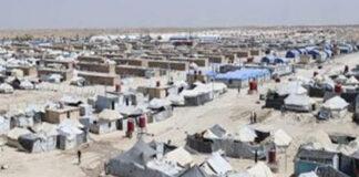 مخيم الهول قسد بالحسكة