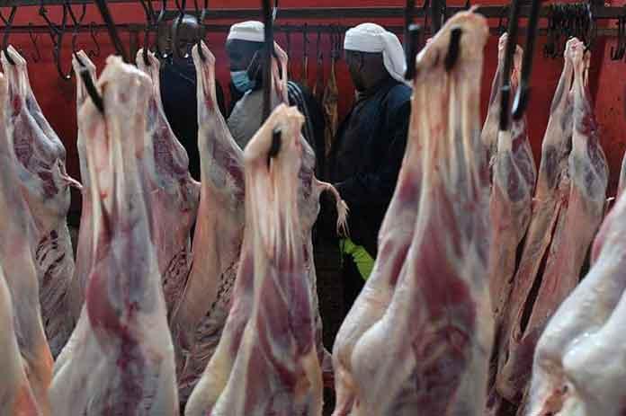 تناول اللحوم بعد الذبح