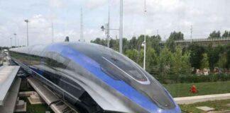 أسرع قطار مغناطيسي