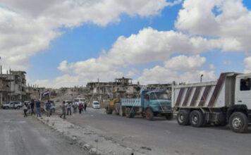 فتح الشوارع درعا البلد